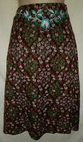 LYSGAARD floral embroidered skirt  UK 10 US 8 was £55 boho