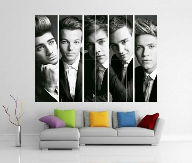 ONE DIRECTION 1D TAKE ME HOME UP ALL NIGHT GIANT WALL ART PRINT ...