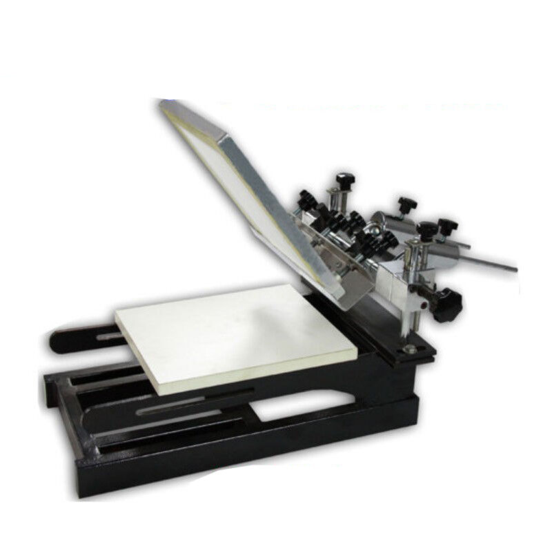 New Printer Screen Printing Press Machine 1-1 Color ...
