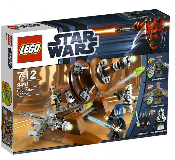 9491 geonosian cannon lego set new legos star wars clone. Black Bedroom Furniture Sets. Home Design Ideas