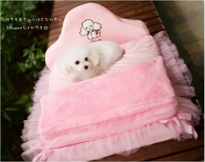 New Princess Pet Dog Cat Bed House Sofa Mat Kennel Cover