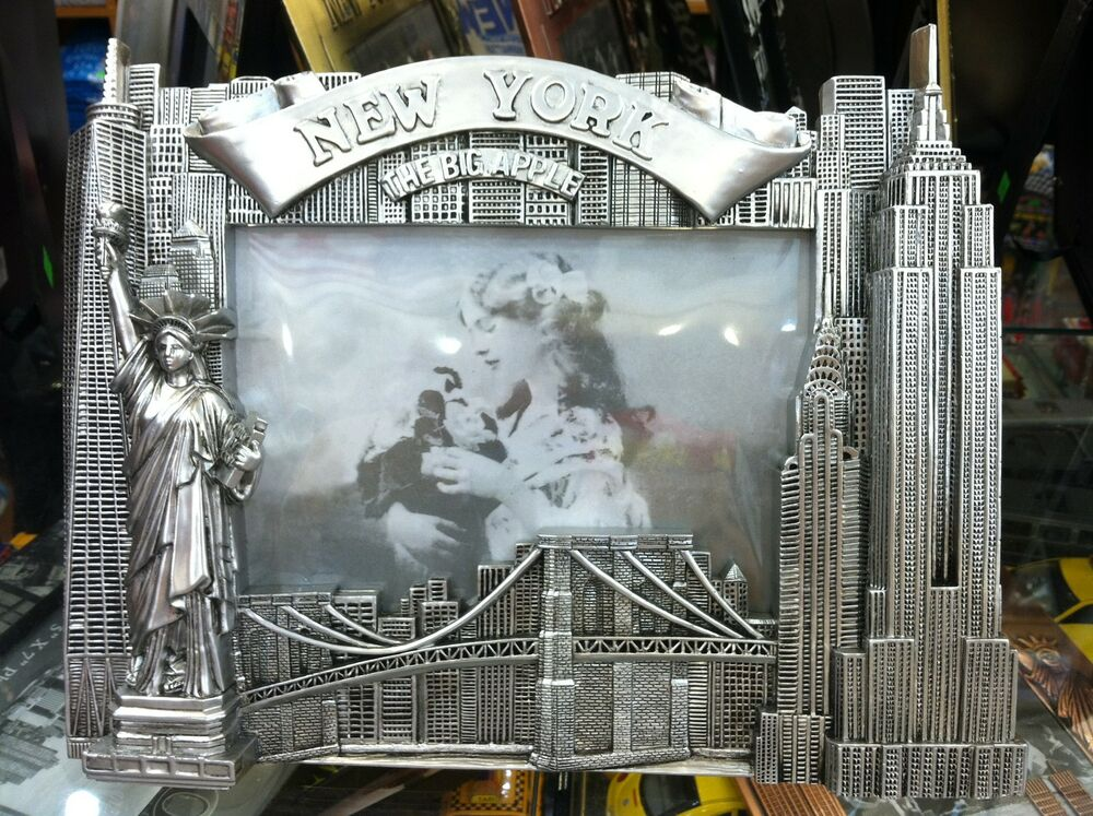 Glasses Frame Nyc : New York City Picture Frame, Famous Landmarks, Metal, 6x4 ...