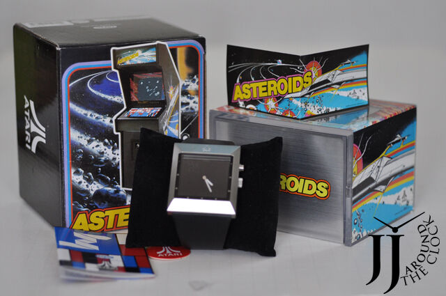 Rare new fossil atari asteroids limited ed watch li2537 691464051679 ebay for Bulltoro watches