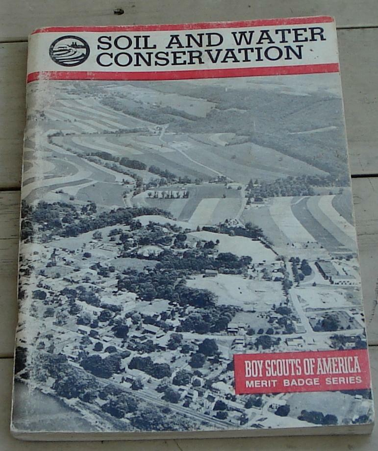 Vintage boy scout booklet soil water conservation for Soil and water facts