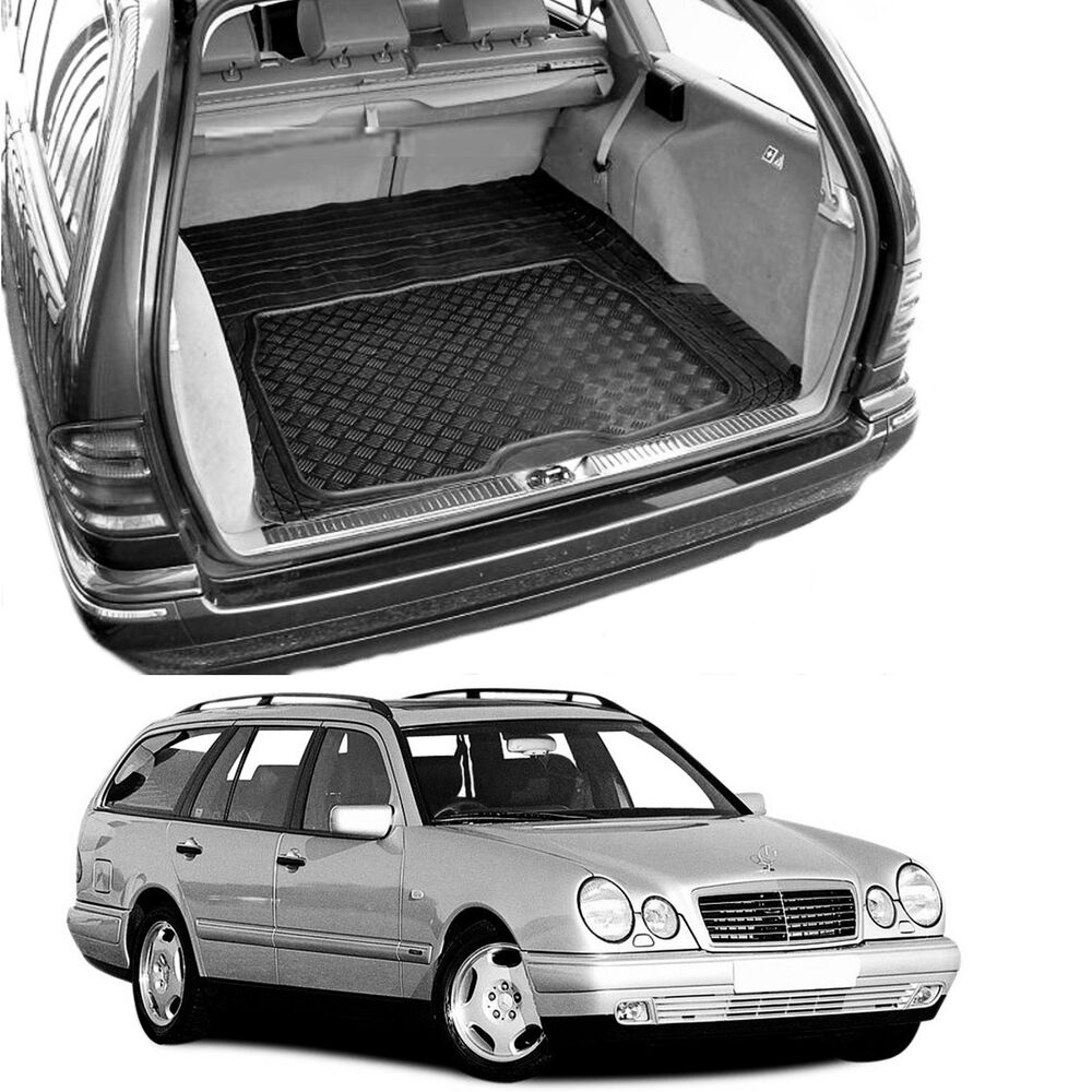 boot mat load liner mercedes s210 e class estate heavy. Black Bedroom Furniture Sets. Home Design Ideas