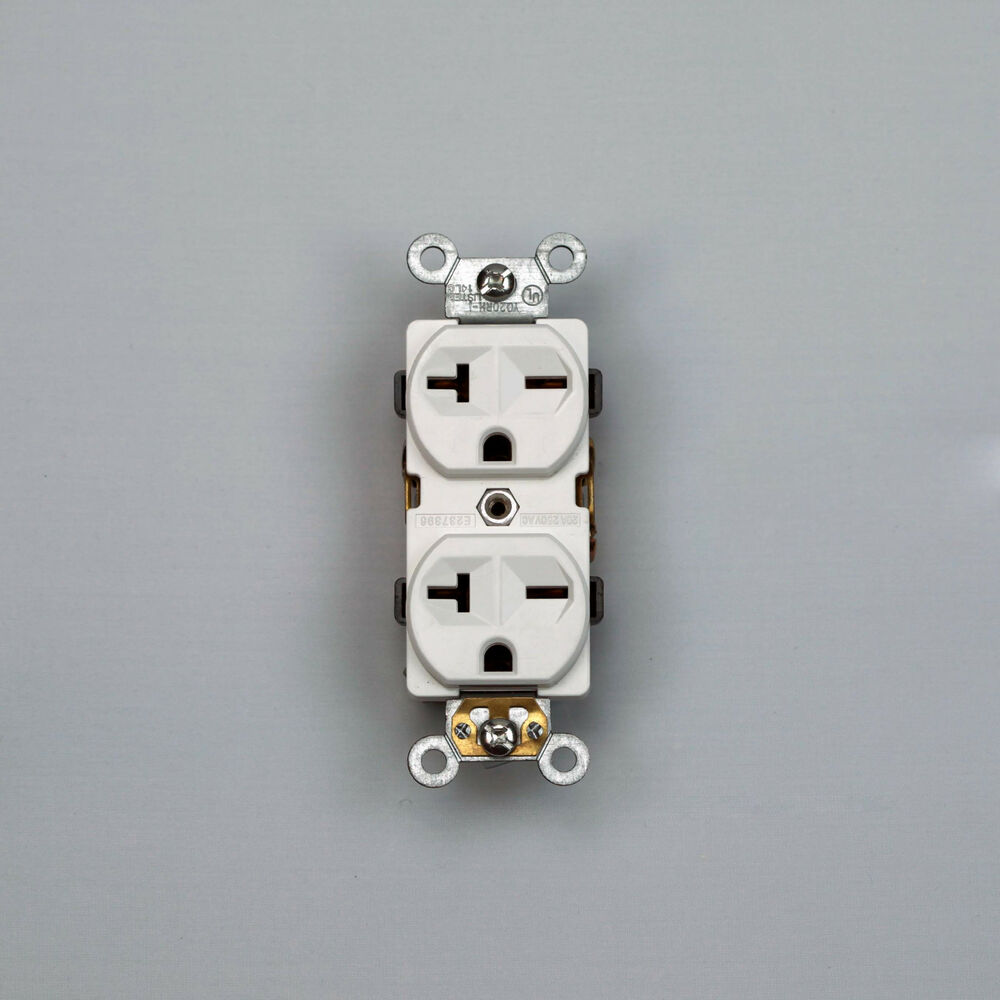 High Voltage Plugs : A industrial grade receptacle v high voltage outlet