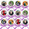 Hotel Transylvania Movie Lollipops w/ Purple Ribbon Bows Party Favors -12 pcs
