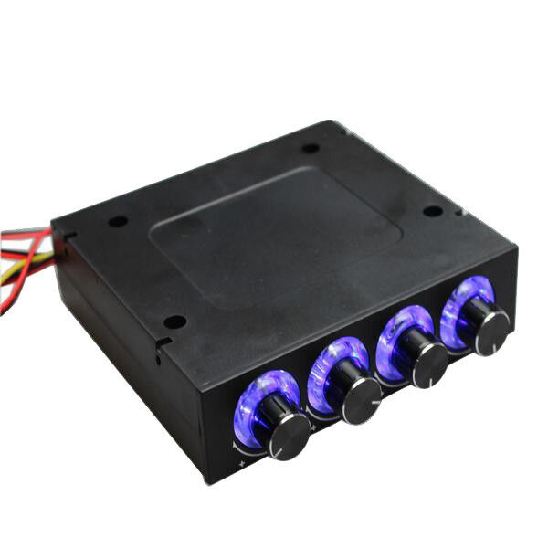 3 5 Quot Computer Case Cpu Hdd 4 Channel Fan Led Speed