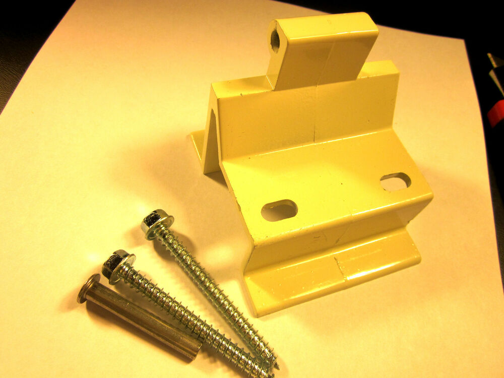 Awning Top Bracket Off White RV Camper Trailer New On ...