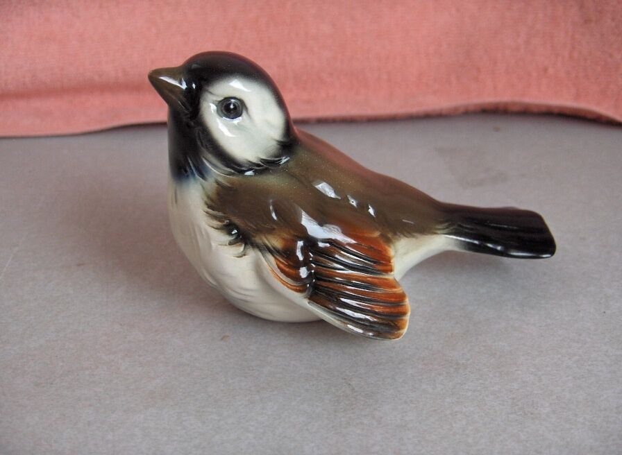 Vintage Goebel Brown Bird Figurines W Germany Cv 72