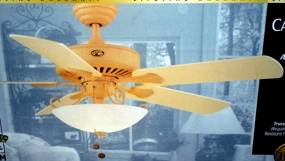 Hampton Bay Cameron Ii 52 Quot Ceiling Fan Antique Bisque