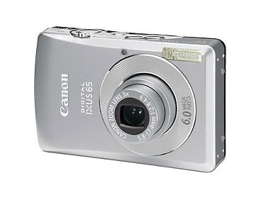 canon ixus65 camera: