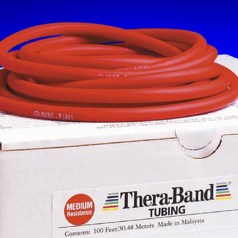Thera Band Red Tube By The Foot Theraband Resistance Band