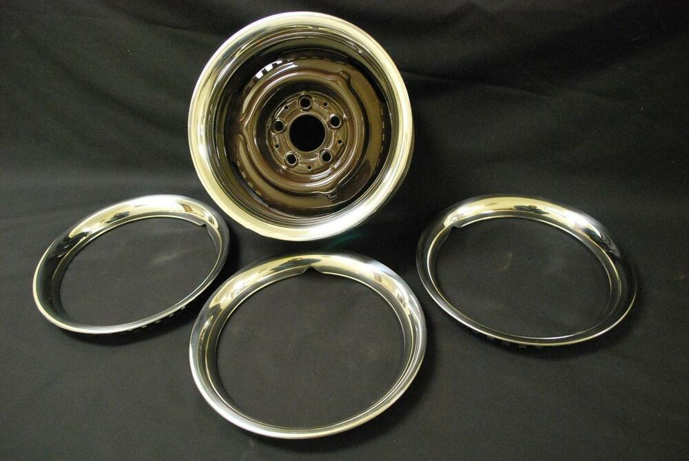 Mercedes benz 190sl trim ring set ebay for Mercedes benz ring