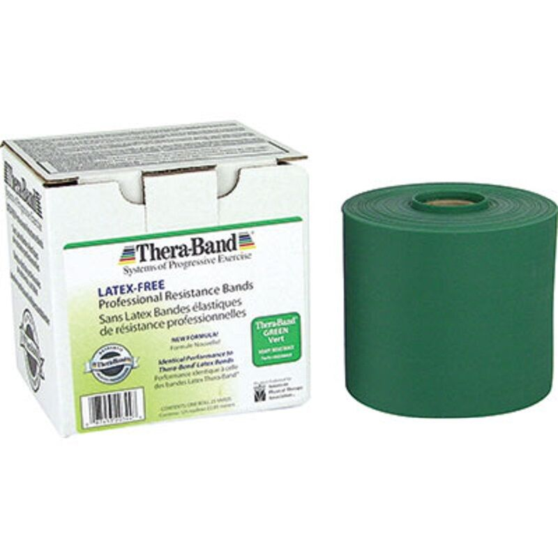 Thera-Band Exercise Resistance Band, Green