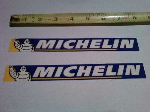 Truck Stickers For Back Window >> 2 Michelin Tire Decals Sticker Shroud Graphics Swingarm ...