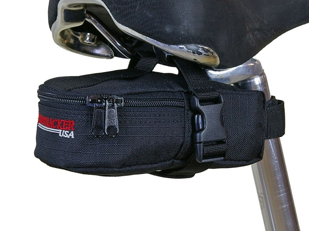 Portable Bike Tail Seat Bag Waterproof Bike Back Saddle Tool Pack Bicycle Pouch