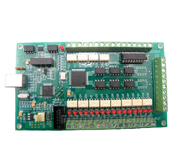 Usb Mach3 besides Mach3 Cnc as well 361665860280 in addition 121287188690 together with Cnc 5 Axis Cnc Breakout Board V5 Type. on 3 axis cnc usb card mach3 200khz breakout board