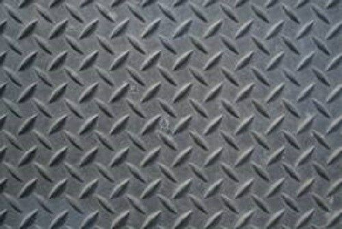 "Diamond Plate Aluminum Sheets >> 1/8"" Steel Tread Plate 24"" x 48"" 