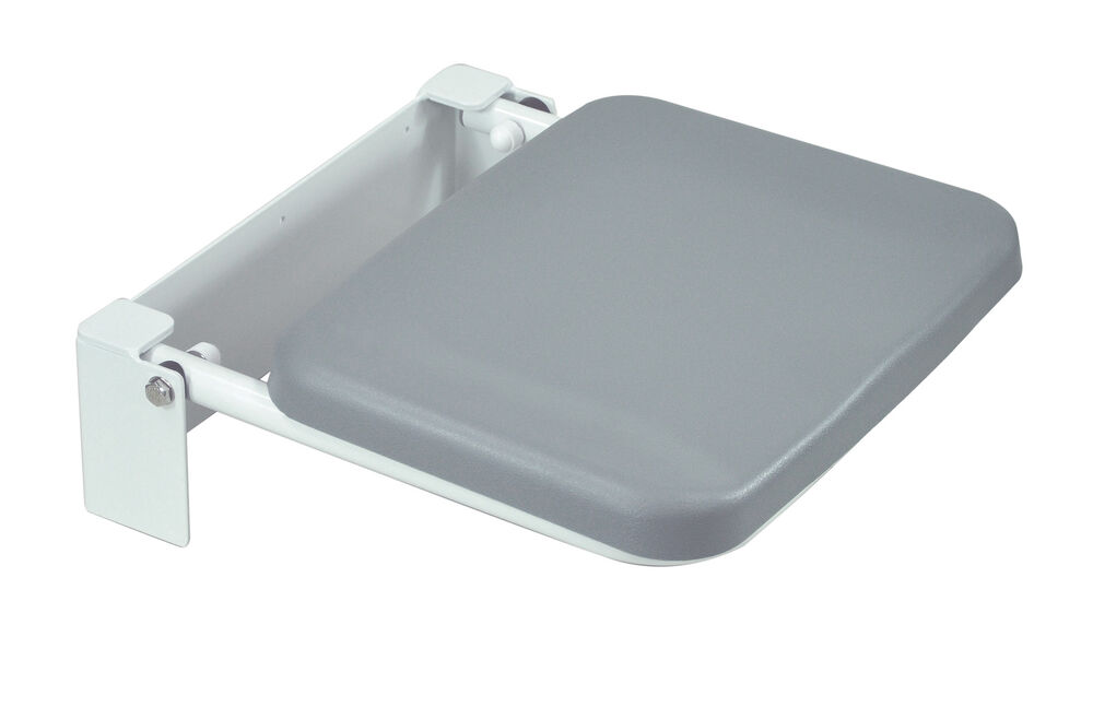 Wall Mounted Folding Fold Down Shower Seat Chair With Padded Seat EBay
