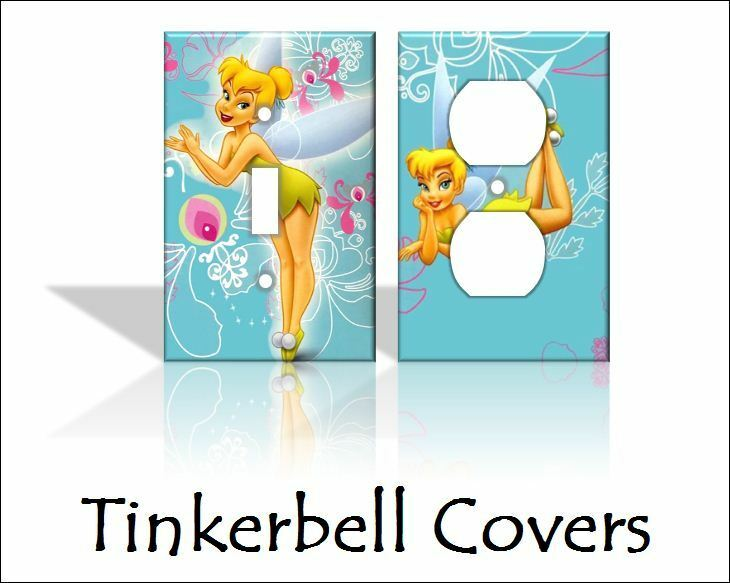Tinkerbell Light Switch Covers Disney Home Decor Outlet