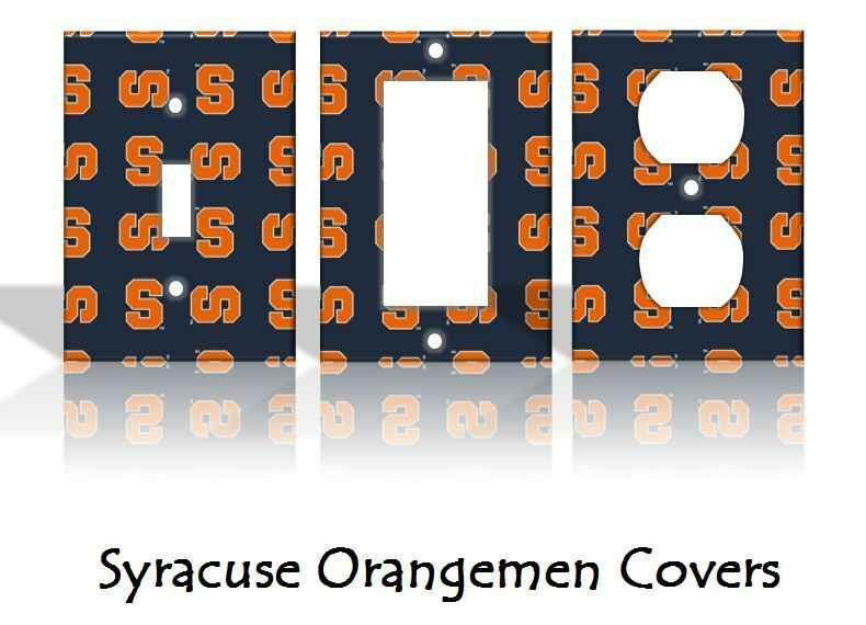 home decor outlets syracuse ny syracuse orangemen light switch covers football ncaa home 12387