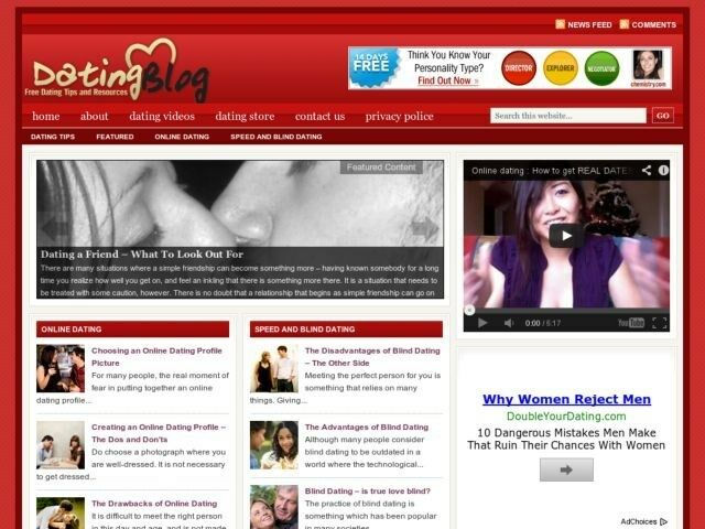 Online dating blog