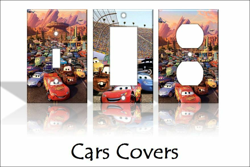 Cars disney light switch covers disney home decor outlet for Home decor outlet