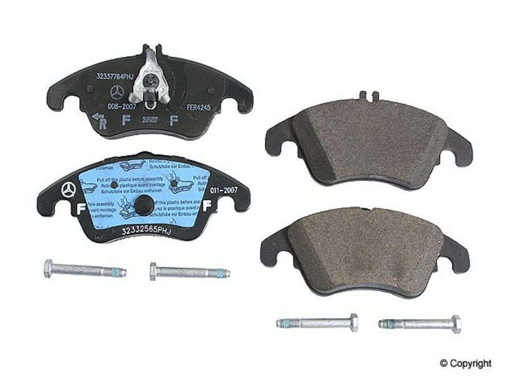 Mercedes benz front brake pads genuine factory original ebay for Brake pads mercedes benz