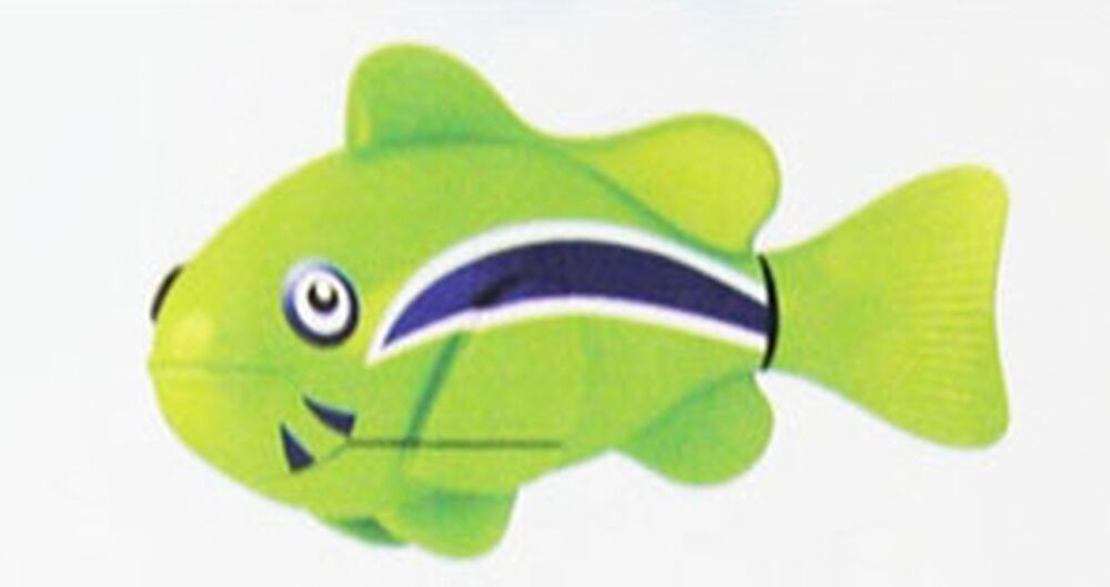 New zuru robo fish toy green gift item ebay for Zuru robo fish