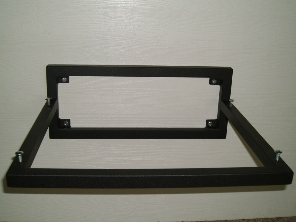 handcrafted steel lp turntable wall mount bracket shelf w. Black Bedroom Furniture Sets. Home Design Ideas