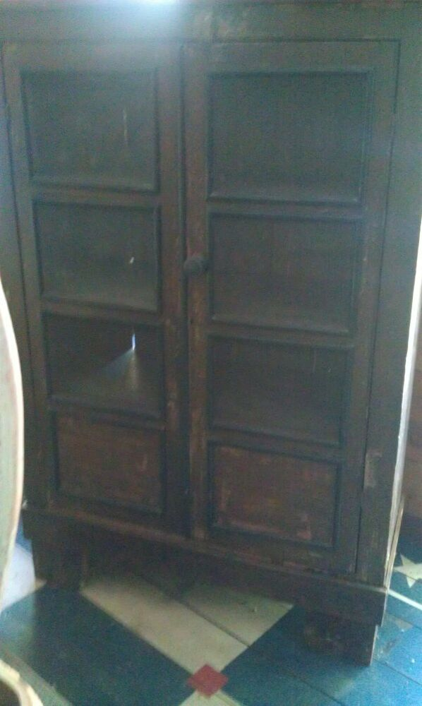 1800 S Primitive Old Antique Jelly Cupboard Cabinet