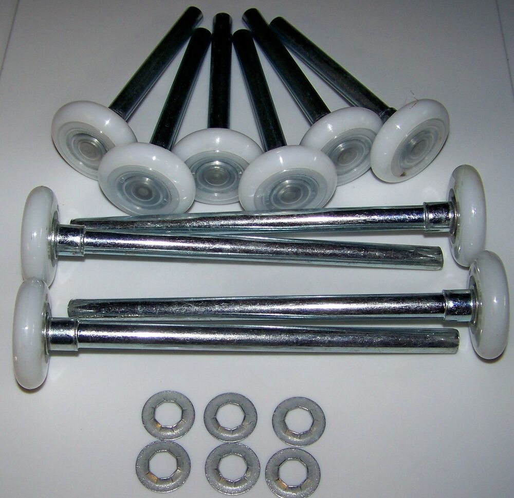 Garage door roller wheel hurricane roller kit hurricane for Garage screen door rollers