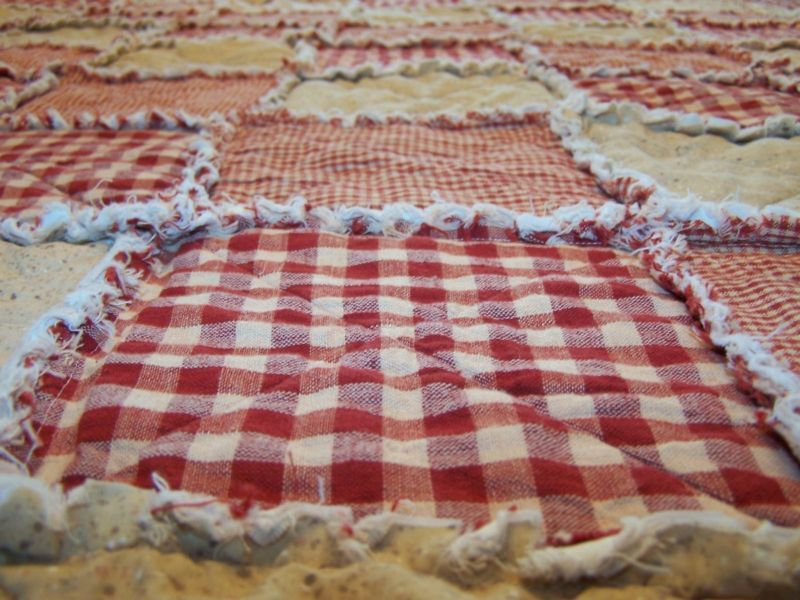 king size handmade quilts california king size rag quilt homespun primitive 9856