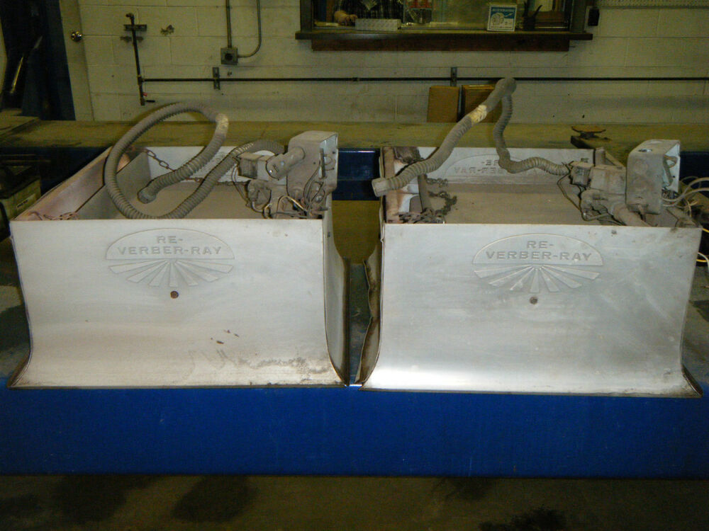 4 Used Re Verber Ray Gas Heaters Ebay