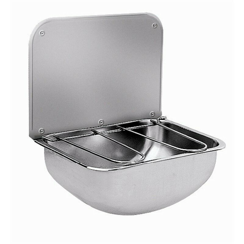 Sissons Bucket Sink Wall Mount Stainless Steel Kitchen Restaurant Catering Unit Ebay
