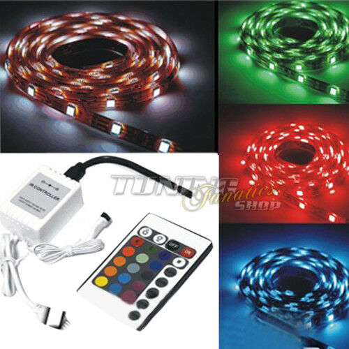 3m high power rgb led smd 5050 strip kette streifen band lichtleiste leiste ebay. Black Bedroom Furniture Sets. Home Design Ideas