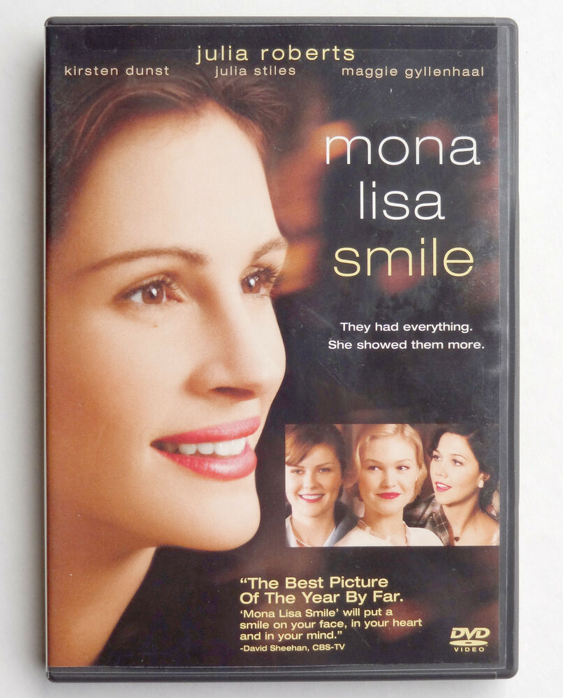 Mona lisa smile 2003 pg 13 movie dvd julia roberts k for Can you buy the mona lisa