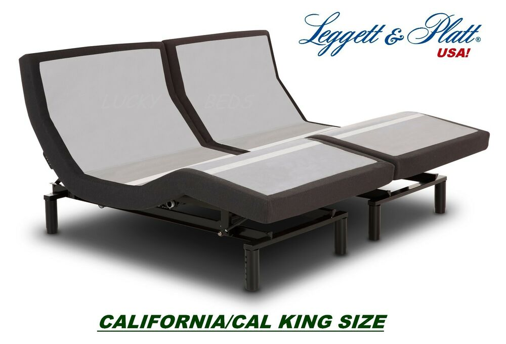 California Or Dual Split Cal King Prodigy 2 0 Leggett And Platt Adjustable Bed Ebay