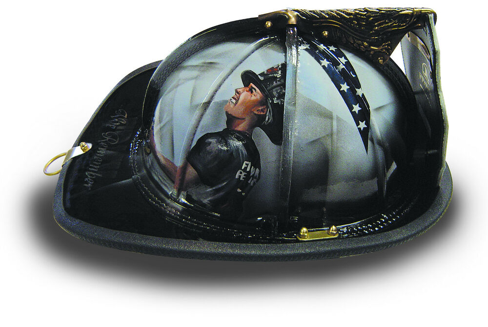 Amazing Custom Leather Fire Helmet Your Design Look