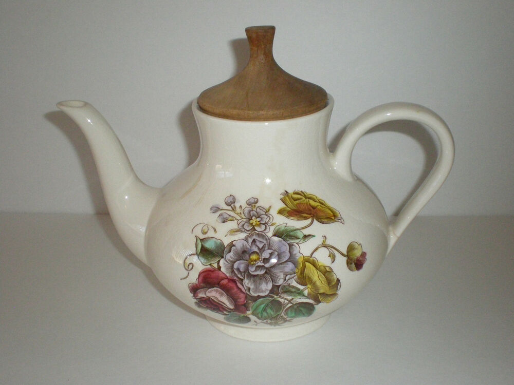 german villeroy boch mettlach ceramic tea pot germany ebay. Black Bedroom Furniture Sets. Home Design Ideas