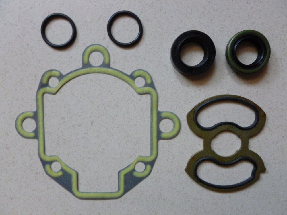land rover power steering pump seal kit in stock discovery ii 99 04 6 pieces ebay. Black Bedroom Furniture Sets. Home Design Ideas
