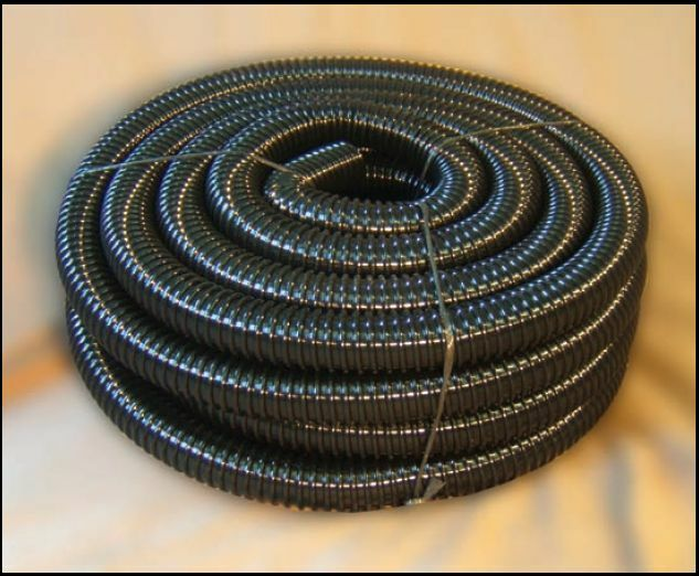 3 4 non kink pvc corrugated pond tubing hose for water for Garden pond hose