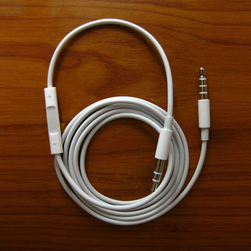 iphone audio cable record car aux audio cord headphone connect cable remote 5728