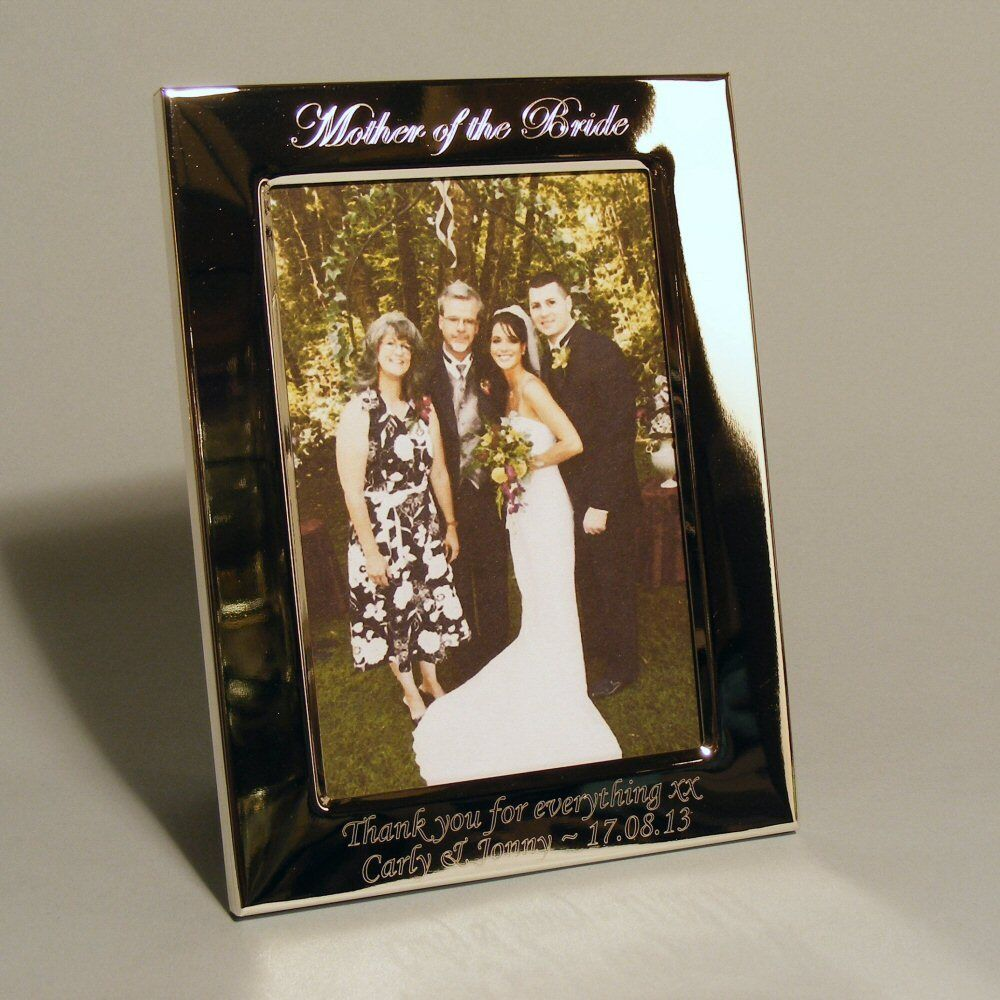 Personalised Wedding Gifts For Bride And Groom Singapore : Personalised Photo Frame Mother and Father of Bride / Groom Wedding ...