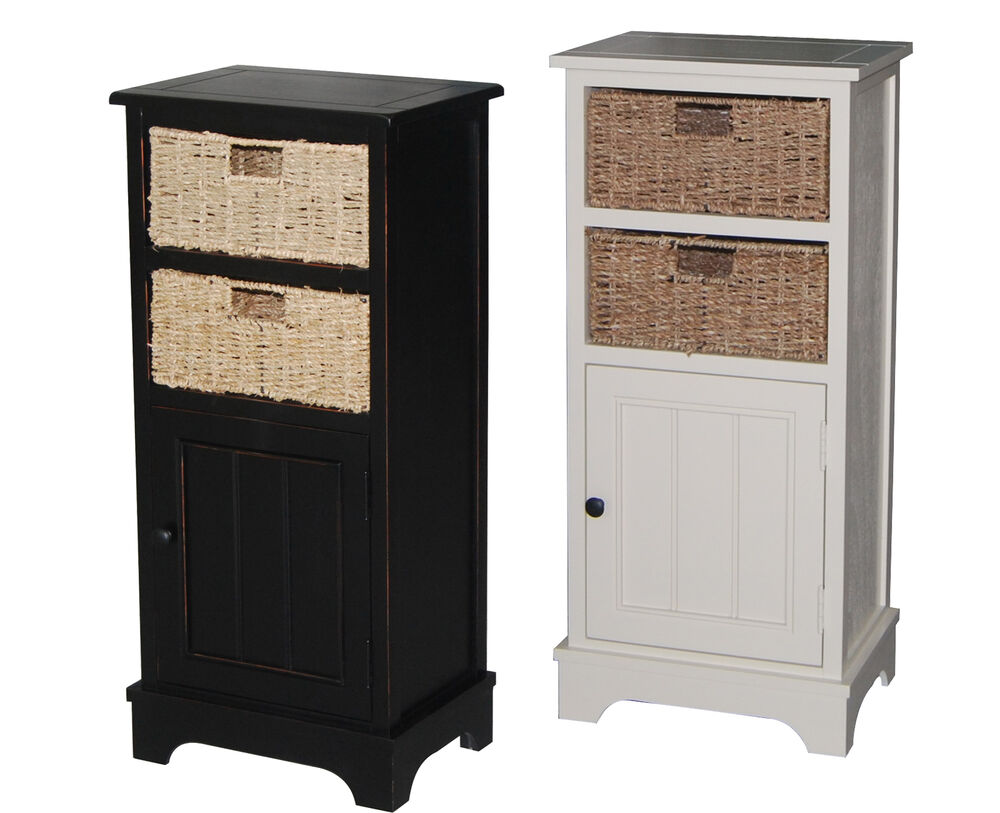 urbanest solid wood accent cabinet storage with 2 seagrass. Black Bedroom Furniture Sets. Home Design Ideas