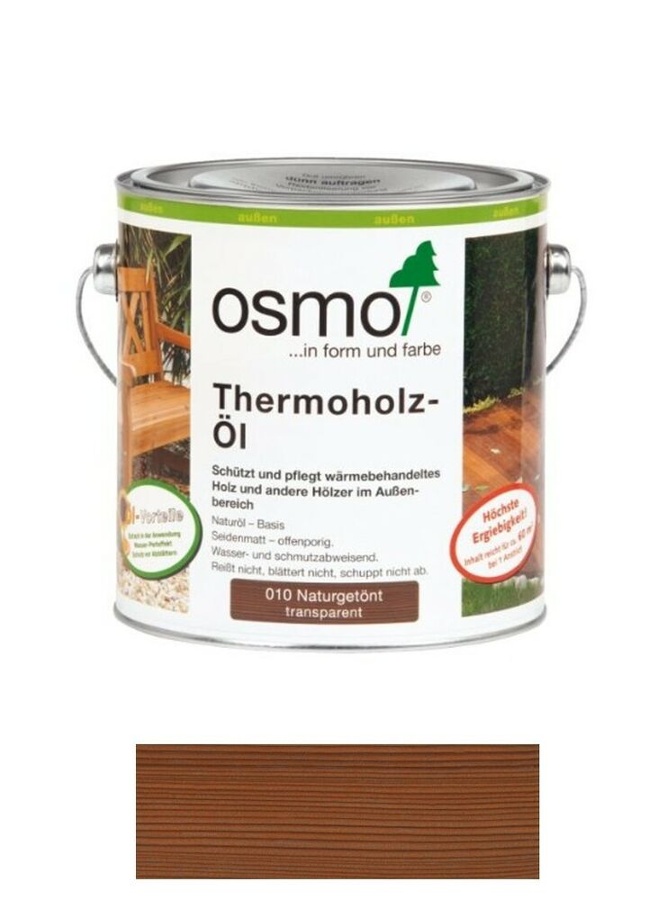 osmo thermoholz l 010 naturget nt 2 5 liter gebinde ebay. Black Bedroom Furniture Sets. Home Design Ideas