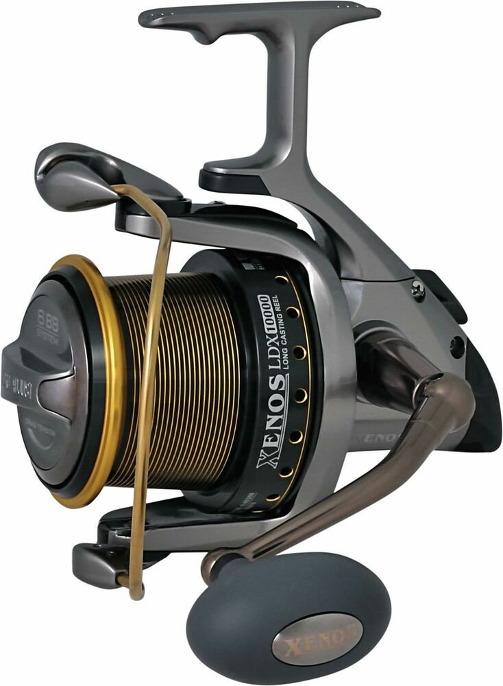 Range of five of the latest Trabucco Surf Casting reels ...