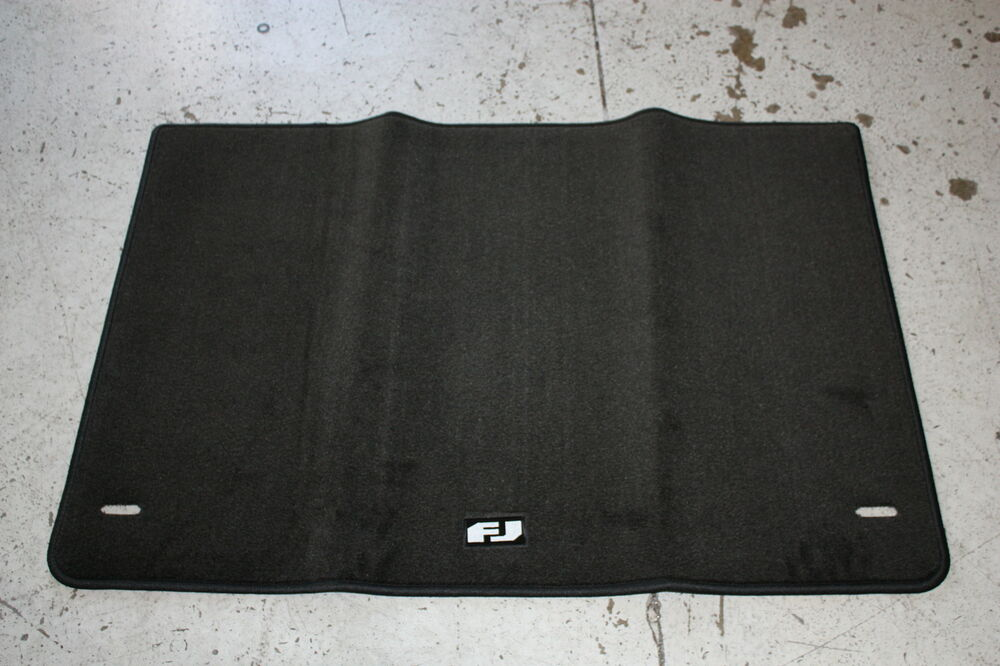new oem fj cruiser rear carpet cargo cover 2007 2013 ebay. Black Bedroom Furniture Sets. Home Design Ideas