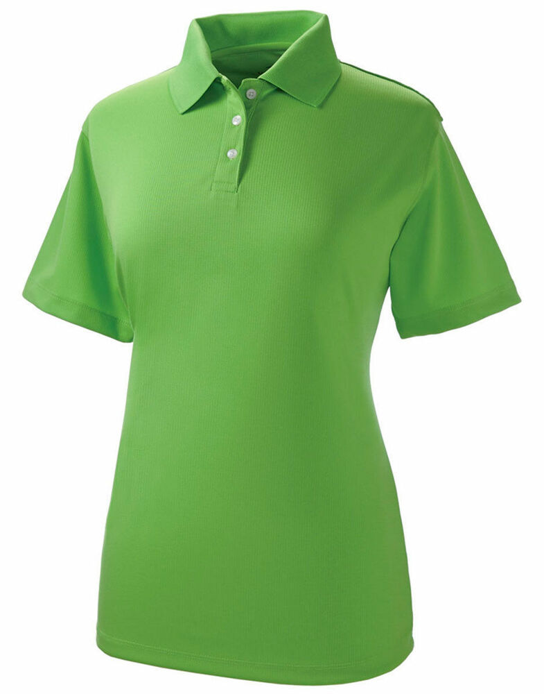 Ultraclub women 39 s moisture wicking stain release for Moisture wicking golf shirts